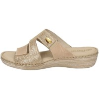 Schuhe Damen Pantoffel Florance 21724-1 TORTORA