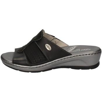 Schuhe Damen Pantoffel Florance 22508 SCHWARZ