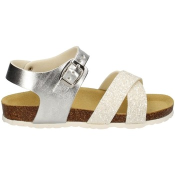 Schuhe Mädchen Sandalen / Sandaletten Evoca EJ109B WEISS