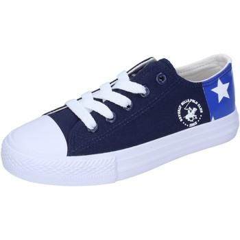 Schuhe Jungen Sneaker Low Beverly Hills Polo Club sneakers segeltuch blau