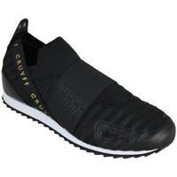 Schuhe Herren Slip on Cruyff elastico black/gold Schwarz