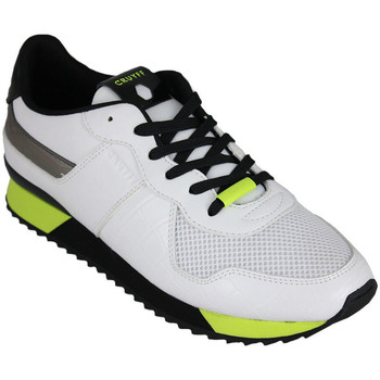 Schuhe Herren Sneaker Low Cruyff cosmo white/fluo yellow Weiss