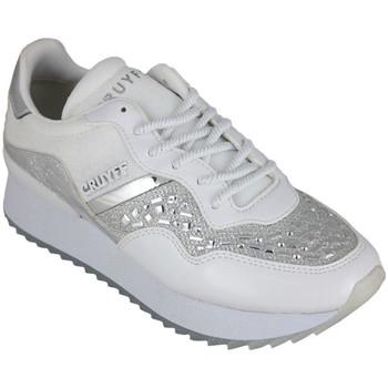 Schuhe Damen Sneaker Low Cruyff wave embelleshed white Weiss