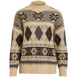 Kleidung Damen Pullover Vila 14055587 Beige