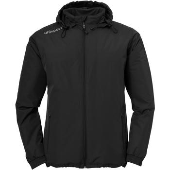 Kleidung Jungen Jacken Uhlsport Winterjacke Essential Coach Jacket Junior Schwarz