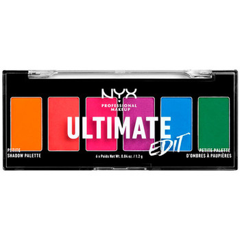 Beauty Damen Set Lidschatten  Nyx Ultimate Edit Petite Shadow Palette brights 6x1,2 Gr 6 x 1,2 g