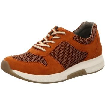 Schuhe Damen Sneaker Low Rollingsoft By Gabor Schnuerschuhe 56.946.33 braun