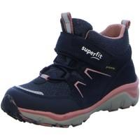 Schuhe Mädchen Schneestiefel Superfit Klettstiefel Sport 5 Boot 1-000243-8010 blau