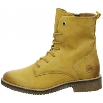 Schuhe Damen Klassische Stiefel Salamander Schnürstiefel 32-49402 gelb