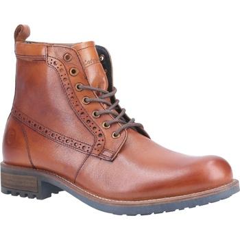Schuhe Herren Boots Cotswold  Tan