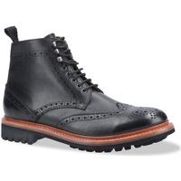 Schuhe Herren Boots Cotswold  Schwarz