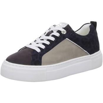 Schuhe Damen Sneaker Low Bugatti 412883023419-1582 2 blau
