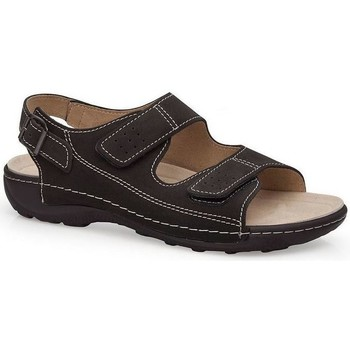 Schuhe Herren Sandalen / Sandaletten Calzamedi BECHAMP SANDALEN SCHWARZ