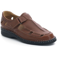 Schuhe Herren Sandalen / Sandaletten Calzamedi SANDALEN  GIOTTO BRAUN
