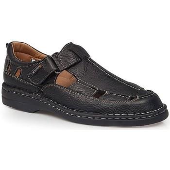 Schuhe Herren Sandalen / Sandaletten Calzamedi SANDALEN  GIOTTO SCHWARZ