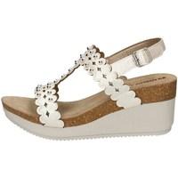 Schuhe Damen Sandalen / Sandaletten Inblu EN 19 WEISS