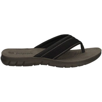 Schuhe Herren Zehensandalen Inblu FO 27 SCHWARZ
