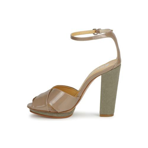 Keyté KRISTAL-26722-TAUPE-FLY-3 Maulwurf  Schuhe Sandalen / Sandaletten Damen 178