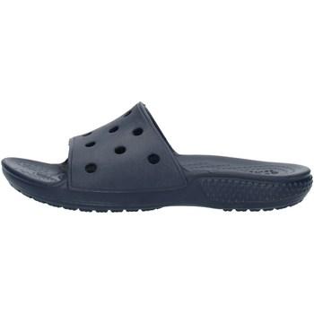 Schuhe Jungen Pantoletten Crocs 206396 Blau