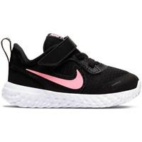 Schuhe Kinder Sneaker Low Nike Revolution 5 Schwarz