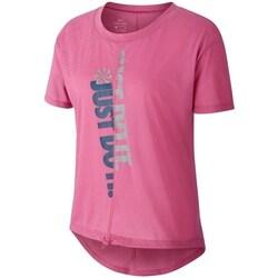 Kleidung Damen T-Shirts Nike CQ7916691 Rosa
