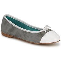 Schuhe Damen Ballerinas Les Lolitas FELL Grau