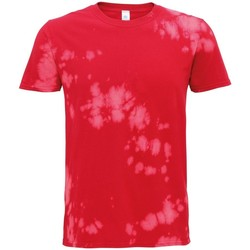 Kleidung T-Shirts Colortone TD09M Rot
