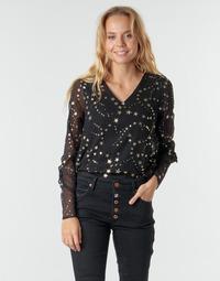 Kleidung Damen Tops / Blusen Vero Moda VMFEANA Schwarz