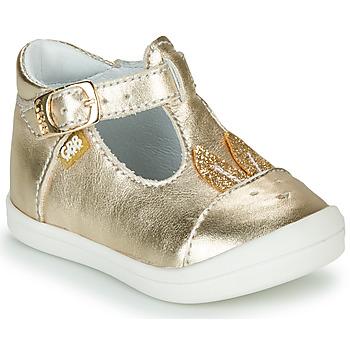 Schuhe Mädchen Ballerinas GBB ANINA Gold