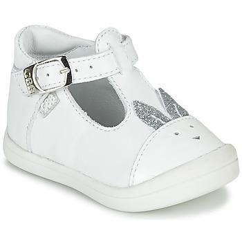 Schuhe Mädchen Ballerinas GBB ANINA Weiss