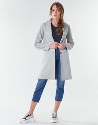 Kleidung Damen Mäntel Only ONLCARRIE BONDED Grau