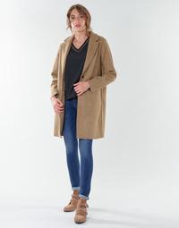 Kleidung Damen Mäntel Only ONLCARRIE BONDED Camel