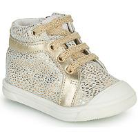 Schuhe Mädchen Sneaker High GBB NAVETTE Gold