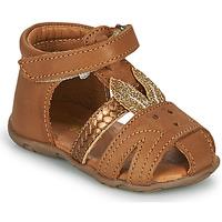 Schuhe Mädchen Sandalen / Sandaletten GBB FADIA Braun
