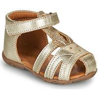 Schuhe Mädchen Sandalen / Sandaletten GBB FADIA Gold