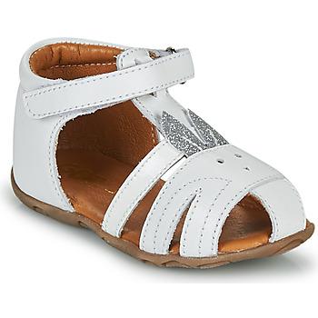Schuhe Mädchen Sandalen / Sandaletten GBB FADIA Weiss