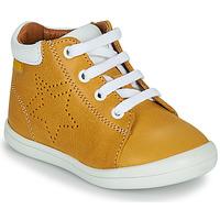Schuhe Jungen Sneaker High GBB BAMBOU VTE MOUTARDE DPF/TOODOU
