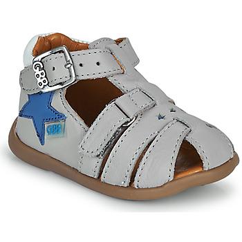 Schuhe Jungen Sandalen / Sandaletten GBB GARDOU Grau