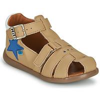 Schuhe Jungen Sandalen / Sandaletten GBB GARDOU Beige