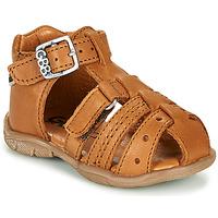 Schuhe Jungen Sandalen / Sandaletten GBB ARIGO Cognac