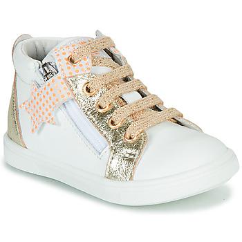 Schuhe Mädchen Sneaker High GBB VALA Weiss / Gold