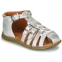 Schuhe Mädchen Sandalen / Sandaletten GBB PERLE Silbern
