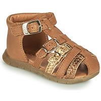 Schuhe Mädchen Sandalen / Sandaletten GBB PERLE Braun