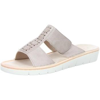 Schuhe Damen Pantoffel Idana Pantoletten 271373963 gold