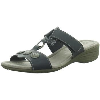 Schuhe Damen Pantoffel Idana Pantoletten 271370833 blau