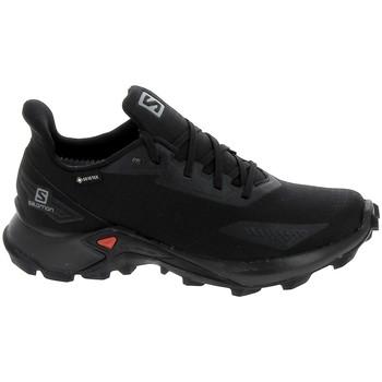 Schuhe Sneaker Low Salomon Alphacross Blast GTX Noir Schwarz