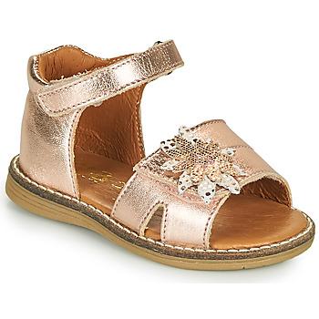Schuhe Mädchen Sandalen / Sandaletten GBB SATIA Rose / Gold