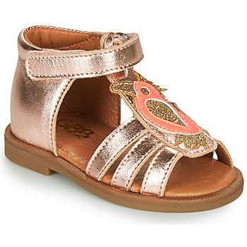 Schuhe Mädchen Sandalen / Sandaletten GBB FRANIA Rose / Gold