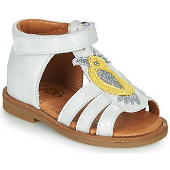Schuhe Mädchen Sandalen / Sandaletten GBB FRANIA Weiss