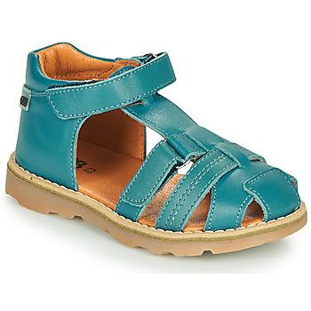 Schuhe Jungen Sandalen / Sandaletten GBB MITRI Blau / Dpf / Trony